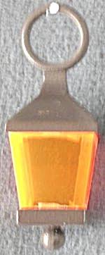 Vintage Plastic Lantern Charm (Image1)