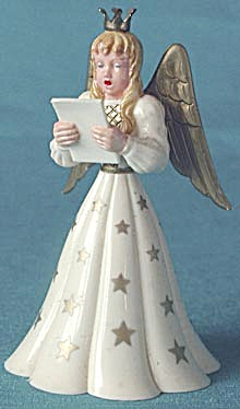 Vintage German Angel Christmas Decoration (Image1)