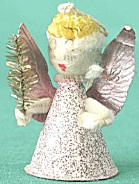 Vintage Christmas Angel Ornament (Image1)