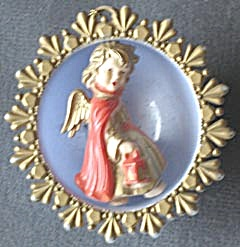 Vintage German Angel Christmas Ornament (Image1)