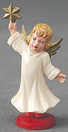 Vintage German Angel Figurines Set Of 4