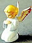 Goebel Small Full Color Angel Kneeling Sacrart Germany