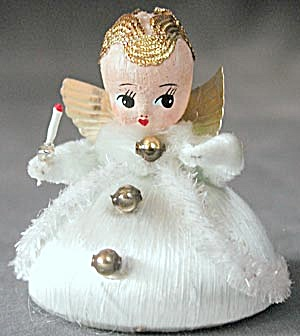 Vintage Angel Christmas Ornament (Image1)