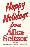 Speedy Alka-seltzer Christmas Ornament