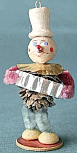 Vintage German Pine Cone Man Christmas Ornament (Image1)