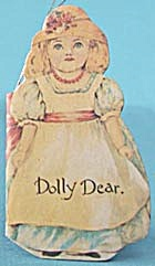 Vintage Little Doll Book Christmas Ornament