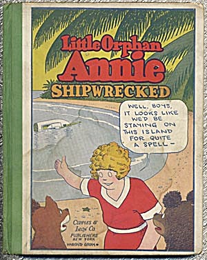 Vintage: Little Orphan Annie Shipwrecked