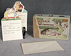 Vintage Skeezix Box of Party Invitations (Image1)