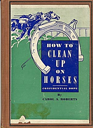 Vintage Joke Book How To Clean Up On Horses