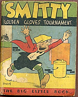 Vintage Big Little Book:Smitty Golden Gloves Tournament (Image1)