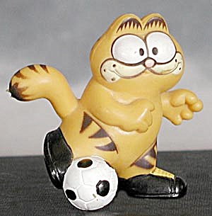 Garfield Playing Soccer