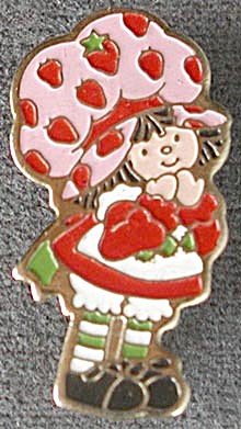 Vintage Strawberry Shortcake Pin (Image1)