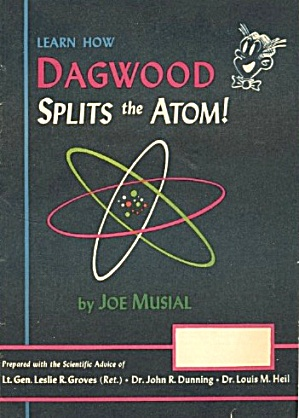 Vintage Dagwood Splits The Atom