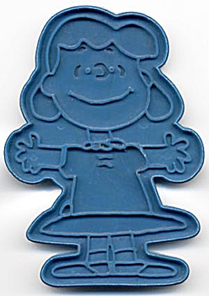Vintage Blue Lucy Cookie Cutter (Image1)