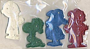 Vintage Snoopy Charlie Lucy Linus Cookie Cutter Set