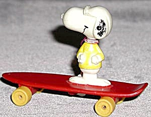 Vintage Joe Cool On Skateboard