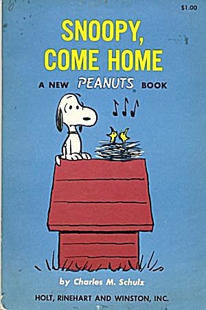 Vintage Peanuts Book Snoopy Come Home (Image1)