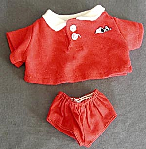 "Snoopy Red Outfit for 11"" Doll (Image1)"