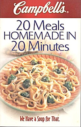 20 Meals Homemade In 20 Minutes