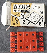 Cracker Jack Toy Prize: Magic Numbers (Image1)