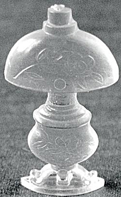 Cracker Jack Toy Prize: Victorian Lamp (Image1)