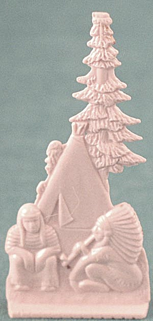 Cracker Jack Toy Prize: Chief & Tepee By Pines