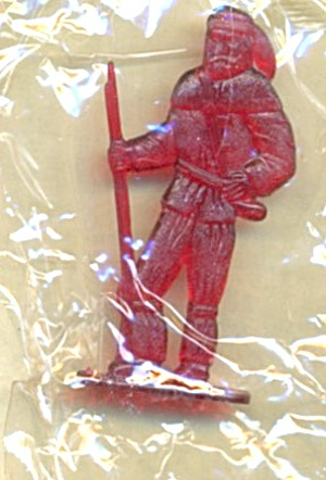 Cracker Jack Toy Prize:frontier Man