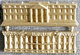 Cracker Jack Toy Prize: Snap Together White House (Image1)