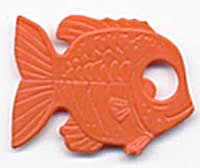 Cracker Jack Toy Prize: Fish (Image1)