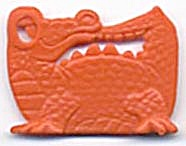 Cracker Jack Toy Prize: Alligator (Image1)