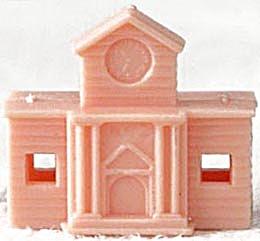 Cracker Jack Toy Prize: Snap Together Building (Image1)