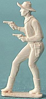 Cracker Jack Toy Prize: 2 Gun Cowboy (Image1)