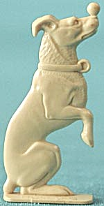 Cracker Jack Toy Prize:Dog Balancing Ball On Nose (Image1)