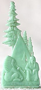 Cracker Jack Toy Prize: Chief & Tepee By Pines (Image1)