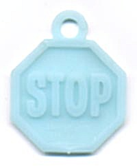 Cracker Jack Toy Prize: Stop Sign (Image1)