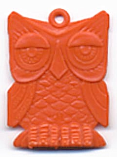 Cracker Jack Toy Prize: Owl (Image1)