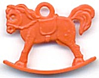 Cracker Jack Toy Prize: Rocking Horse (Image1)