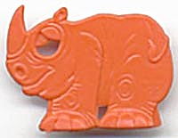 Cracker Jack Toy Prize: Rhinoceros (Image1)