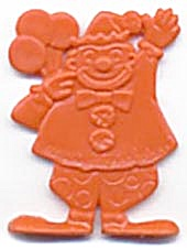 Cracker Jack Toy Prize: Clown (Image1)