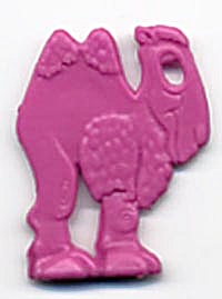 Cracker Jack Toy Prize: Camel (Image1)