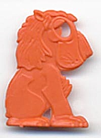 Cracker Jack Toy Prize: Lion (Image1)