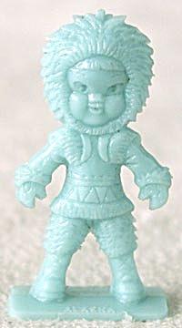 Cracker Jack Toy Prize: Eskimo Alaska (Image1)