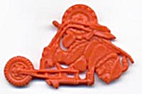 Cracker Jack Toy Prize: Motorcyclist (Image1)