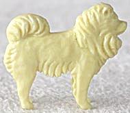 Cracker Jack Toy Prize: Samoyed (Image1)