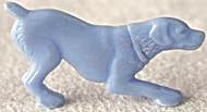 Cracker Jack Toy Prize: Crouching Dog (Image1)