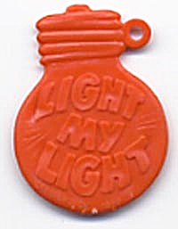 Cracker Jack Toy Prize: Lightbulb (Image1)