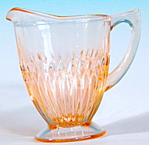 Vintage Pink Depression Glass Creamer