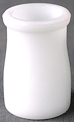 Milk Glass Individual Cream Bottle/creamer