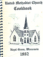 United Methodist Church Cookbook (Image1)