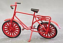 Red Metal Bicycle Christmas Ornament (Image1)